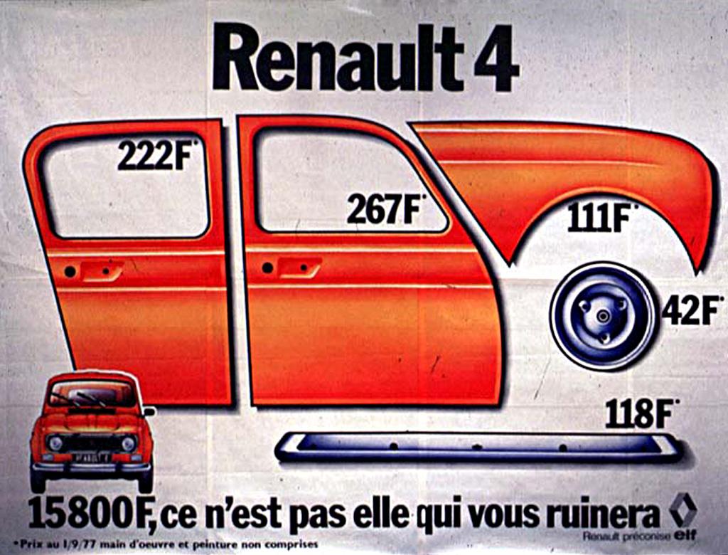 PUB  RENAULT  4L 1977-publicite-renault-4-02