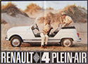 Brochure Renault 4 Plein Air