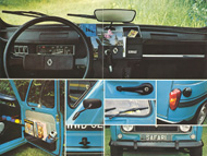 Brochure Renault 4L Safari