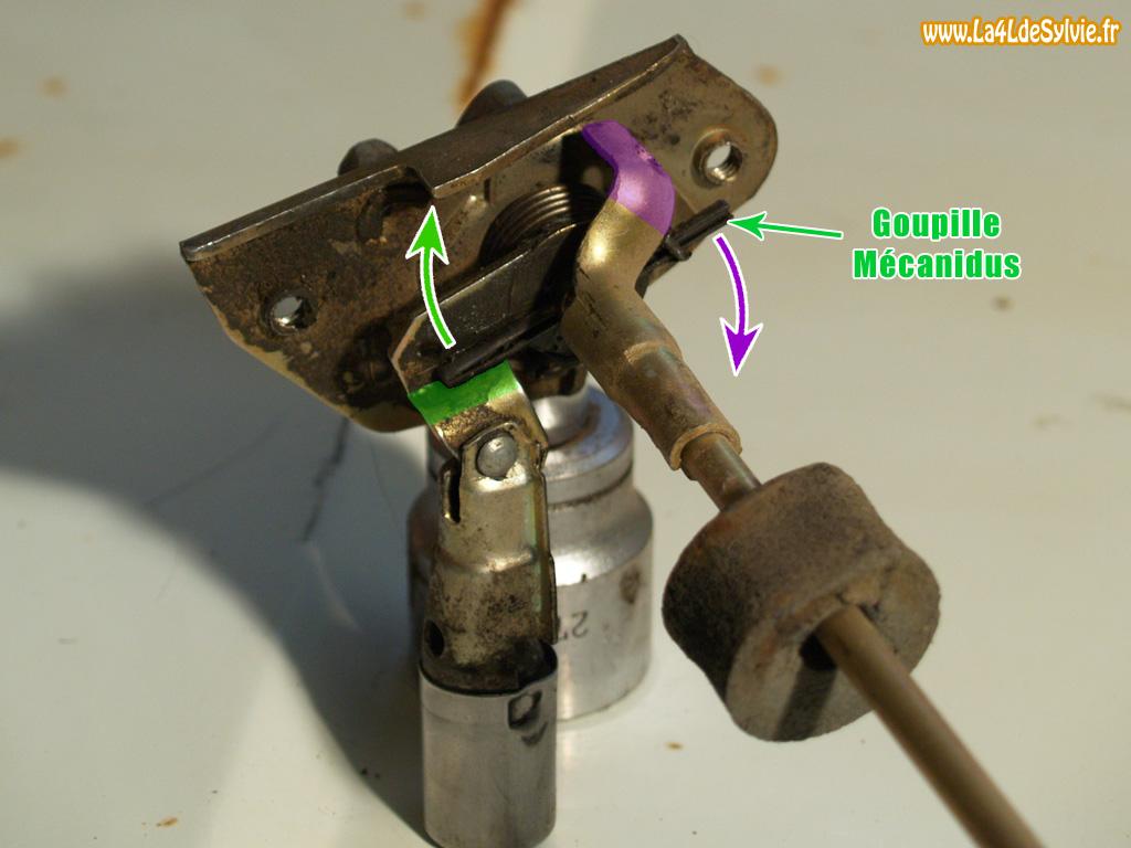 La4ldesylvie - Mecanisme serrure porte interieure ...